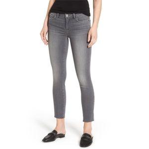 Paige Verdugo Raw Hem Ankle Skinny Jeans 28